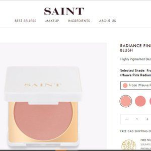 SAINT Radiance Finish Highly Pigment Blush
